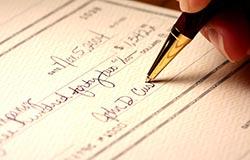 هر آنچه در رابطه با چک سفید امضا باید بدانید-بخش ششم-همراه نمونه شکایت نامه